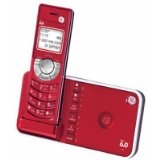Red Cordless Phone